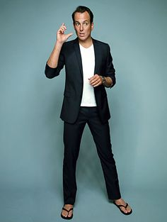 Will Arnett. We have a thing. We like going to the same Farmer's market.