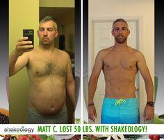 Matt C. lost 50 lbs