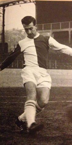 Brian Douglas of Blackburn Rovers in Brian Douglas, Blackburn Rovers, 1960s, Football Soccer, Sixties Fashion