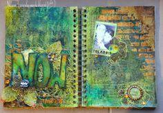 Mon Scrap'uleux Monde!: Art Journal {le retour}!!!
