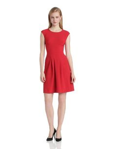 London Times Women's Short Sleeve Pleated Flare Dress, Poppy Red, 8 London Times,http://www.amazon.com/dp/B00EWFHN40/ref=cm_sw_r_pi_dp_8A1ktb03MHZWA3PH