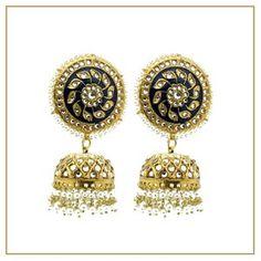 Who doesn't love a pair of statement lightweight jhumki earrings with intricate Kundan stonework 💙💙 ➡️ www.glimour.co.uk We ship worldwide 🌍📦 #payal #anklet #jhanjar #kundan #bridalset #bangles #kangan #indianbangleset #indianbangles #mathapatti #bridaljewellery #pakistanibride #headpiece #headchain #tikka #asiana #bollywood #indian #shaadi #bridal #indianwedding #indianbride #nath #nosechain #indianjewelry #indianjewellery #londonbridaljewellery #waistchain #indianwedding #shaadi… Jhumki Earrings, Dangle Earrings, Kundan Set, Asian Bridal, Bangle Set, Bridal Sets, Anklet, Indian Jewelry, Headpiece
