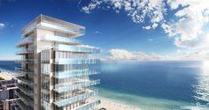New Builds in Miami: Sou Fujimoto's Palm Court, City View Garage, Faena House | Project: Glass. Firm: Rene Gonzalez. Location: Miami, Florida. #interiordesignmagazine #design #interiors #projects #architecture