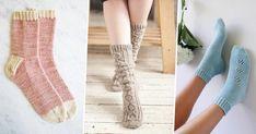 L'hiver est là, gardons les pieds bien au chaud en tricotant des chaussettes toutes douces. Découvrez 15 patrons pour tricoter des chaussettes. Marie Claire, Cute Socks, Knitting Socks, Knit Socks, Leg Warmers, Knit Crochet, Pattern, Patience, Assemblage