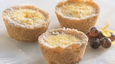 As a spin on lemon bars, prepare tiny tarts bursting with refreshing citrus flavor.