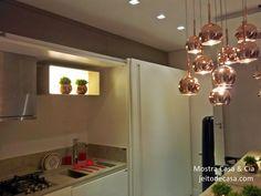 apartamento modelo mostra decoração