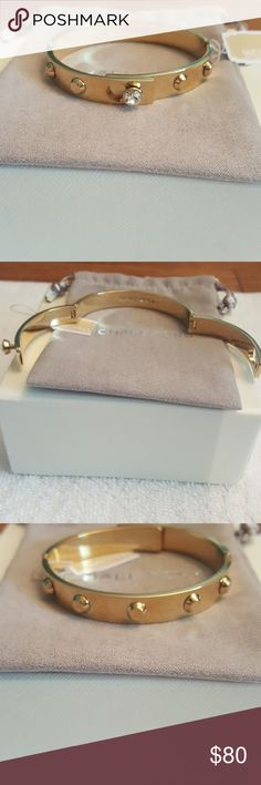 Michael Kors Astor Gokd Stud Bracelet Authentic and New, Silver and Rose Gold also available in my closet MICHAEL Michael Kors Jewelry Bracelets
