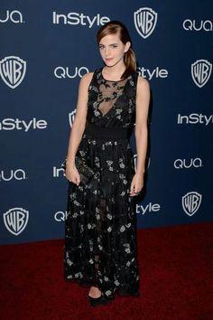 Emma Watson ♥♡♥ — Post party de los golden globe….