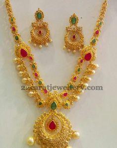 Jewellery Designs: Chandbali Necklace by SMJ