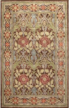 I actually love this one the most! It would be stunning in your living room! Priced a little higher but still under $400 for a 5x8 with discount! Bashian Newbury Morris Town Chocolate Rug