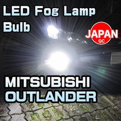 LED Fog Lamp Bulb 2 Pieces For MITSUBISHI OUTLANDER 2016-up