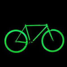 ZULU Glow-In-The-Dark Bicycles