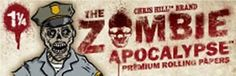 Find it on http://Papr.Club - Zombie Apocalypse Officer Brady 1¼ Cigarette Rolling Papers…