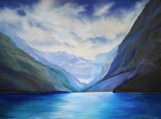 """'Forever Beautiful' 30"""" x 40"""" Oil on Canvas by Corrinne Wolcoski"""