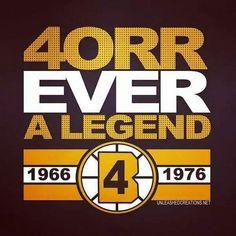 The Orr of bobby orr Ice Hockey Teams, Hockey Stuff, Sports Teams, Boston Sports, Boston Red Sox, Phil Esposito, Patrice Bergeron, Hockey Room, Bobby Orr
