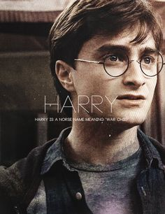 """ What's in a Name? → Golden Trio "" -- Harry"