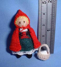 Red Riding Hood 2 .Knitted by Jill Rothwell
