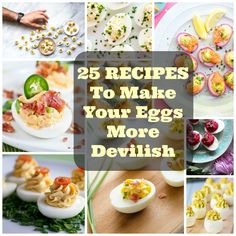 Deviled Egg Recipes: 25 Recipes to Make Your Eggs More Devilish | Ideahacks.com