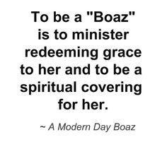 A Modern Day Boaz