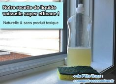 recette liquide vaisselle bicarbonate et citron