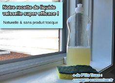 La Recette du Liquide Vaisselle Maison Super Efficace.