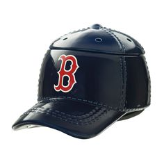 """BOSTON RED SOX™ MLB SCENTSY WARMER It's hats off to America's favorite pastime with our NEW Major League Baseball™ Collection. These officially licensed warmers are """"stitched"""" with your team's logo and look great next to the game ball on your shelf. Boston Baseball, Boston Red Sox, Baseball Cap, Major Baseball, Baseball Helmet, Baseball Season, Mlb, Wax Warmers, Scented Wax"""