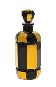1920s French commercial perfume bottle