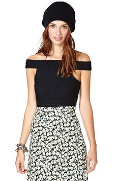 Nasty Gal Marcia Crop Top