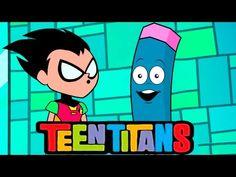 Рисуем Робина из Юных Титанов Teen Titans Go[МультКарандашик] #teentitansgo