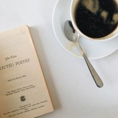 Black coffee and John Keats.