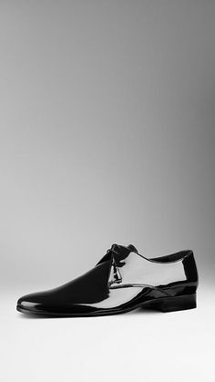 Patent Leather Ceremonial Shoes | Burberry