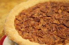 A neighbor gave me this recipe not long ago. She brought me this pie when I moved in six years ago and I've been after her for the recipe ever since. Fall Dessert Recipes, Thanksgiving Desserts, Pie Dessert, Fall Desserts, Holiday Recipes, History Of Pie, Pie Kitchen, Bourbon Pecan Pie, Apple Pie Bites