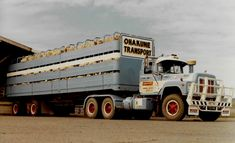 Loaded with sheep. Semi Trailer, Old Trucks, Transportation, Cars, Vehicles, Sheep, Australia, Model, Trucks