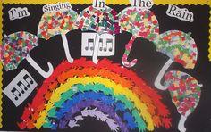 Displays in our School :: Little Angels School Singing In The Rain, Special Education Classroom, Angels, Display, School, Birthday, Floor Space, Birthdays, Billboard