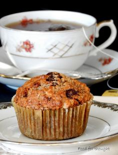 Early Grey, Vegan Muffins, Oatmeal, Cupcakes, Sweets, Breakfast, Recipes, Food, The Oatmeal