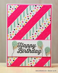 JanB Handmade Cards Atelier: Training Day Cards - First Set
