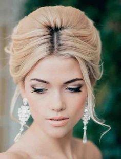 Bridal Hair Trend: Soft Beehive #bride #hair #updo #beehive