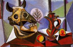 2016 Abstract Art,Still Life With Bulls Skull By Pablo Picasso Oil Painting On Canvas,High Quality,Hand Painted From Cherry02016, $64.93 | Dhgate.Com