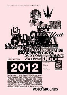 Herr Wempe a/k/a DJ Soulsonic: Rap History 2012