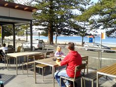 Florida Beach Bar, Crowne Plaza Terrigal, NSW - great beer garden with top views, food, and music. Definite #hooroo #SecretSpots in Australia