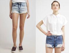 Even&odd Short Vaquero Light Blue Denim shorts ropa vaquero short Light Even&Odd Denim Blue Noe.Moda