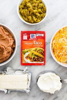 Cheesy Texas Trash Dip | foodiecrush.com