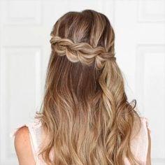 Long Hair Braided Hairstyles, Braids For Long Hair, Easy Hairstyles, Hairstyle Ideas, Hair Updo, Hairstyle Tutorials, Hairstyles For Medium Length Hair Easy, Newest Hairstyles, Spring Hairstyles
