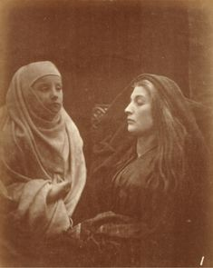 'The Little Novice and the Queen', 1874 by Julia Margaret Cameron illustrating…