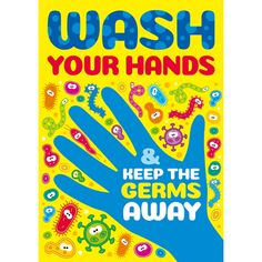 Hand washing guide posters from Brainwaves. Supplying stickers, certificates, badges, stampers, wristbands & personalised rewards for school children. Classroom Charts, Classroom Posters, Hand Hygiene Posters, Germ Crafts, Gender And Development, Hand Washing Technique, Hygiene Lessons, Creative Bulletin Boards, Hand Washing Poster