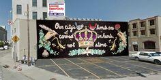 Meet the new murals, starring Ezzard Charles, James Brown Cincinnati Art, Charles James, City Limits, James Brown, Environmental Graphics, Public Art, Graffiti Art, Street Art, Stars