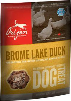 Orijen Brome Lake Duck Singles Freeze-Dried Dog Treats