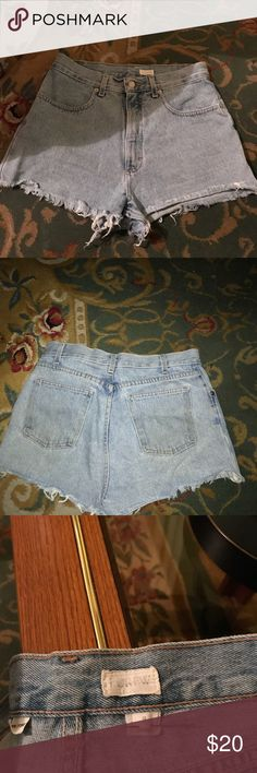 Sexy high waist j crew jeans shorts I have for sale sexy high waist crew jeans shorts. Size8 J. Crew Shorts Jean Shorts