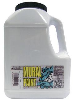 Gallon of Polar White Mural Paint