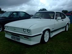 Ford Capri Tickford Turbo, you could buy these brand new just like this. Only in the 80s